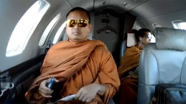 A YouTube video showing Thai Buddhist monks flying in a private jet and carrying luxury items has sparked criticism from Thailand's national Buddhism body.