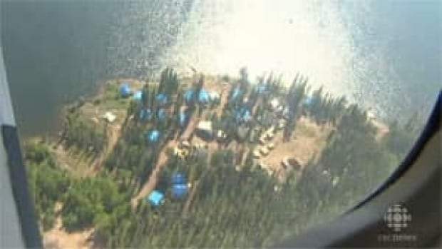 The Nechalacho project site is located near the East Arm of Great Slave Lake.