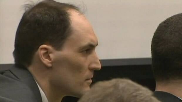 Brad Cooper is seen here at his trial in 2011. CBC
