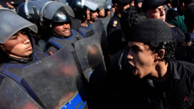 Egypt rights groups allege police brutality is on the rise at demonstrations and detentions centres. Nearly 60 protesters have died in the last month across the country.