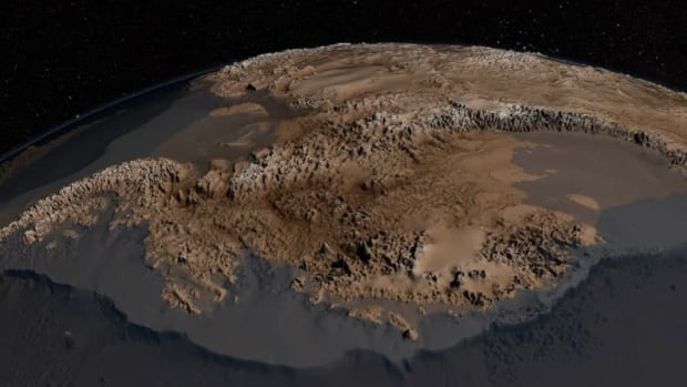 This topography map, called Bedmap2, was compiled by the British Antarctic Survey and incorporates millions of new measurements, including substantial data sets from NASA's ICESat satellite and an airborne mission called Operation IceBridge.