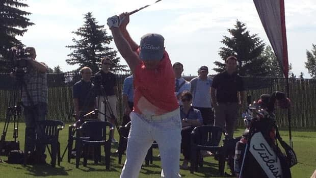 Graham DeLaet stopped in Saskatoon on his way to the British Open.