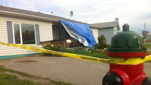 The town of Hay River, N.W.T., is in shock following the violent death Monday of a local woman.