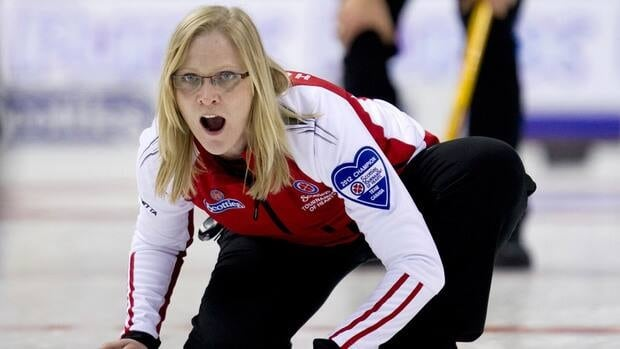 Amber Holland's team was among the leaders in the early stages of the Scotties Tournament of Hearts, but tumbled out of the running by losing four of their last five to finish 6-5.
