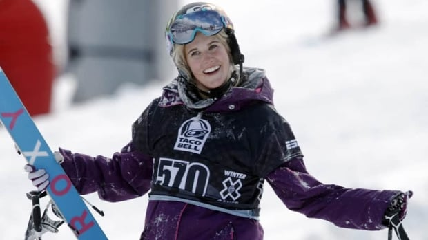 The family of the late freestyle skier Sarah Burke will receive a Canadian flag that's been flying on the Peace Tower to mark National Flag Day on Feb. 15, Prime Minister Stephen Harper announced.