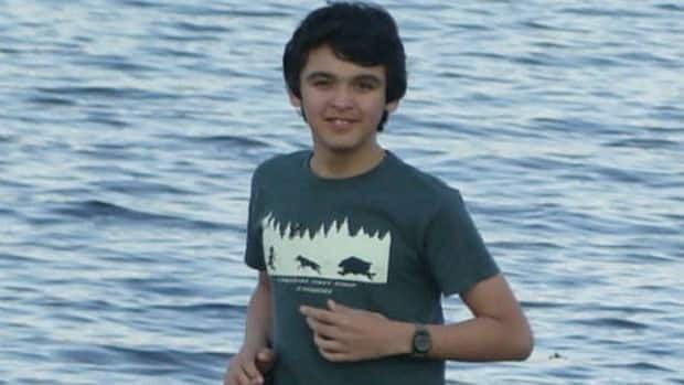 Burton Winters, 14, died off the coast of Labrador.