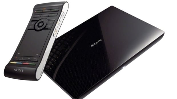 Sony's NSZ-GS7 internet player with Google TV consists of a slim set-top box that connects to your television and is controlled by a two-sided remote that includes a touchpad and a keyboard.