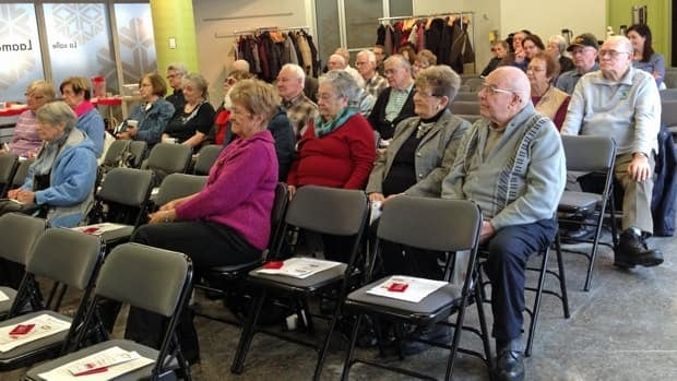 Dozens of seniors showed up to hear and ask questions about a new anonymous Crime Stoppers reporting line that can be used to give information about elderly drivers. The tip line is part of a Sudbury police task force meant to proactively protect seniors.