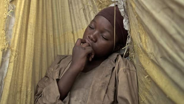 Rachel Mwanza portrays an abused child soldier in War Witch, a film by Montreal's Kim Nguyen that is screening in competition at the Tribeca Film Festival.