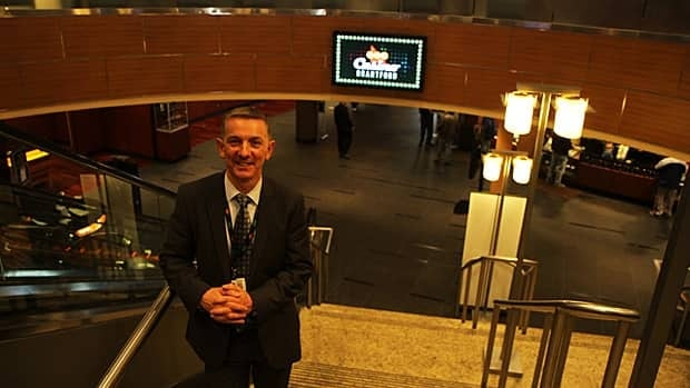 Grant Darling, general manager of the Brantford casino, says the casino employs some 850 local workers. The casino will soon be privatized as part of the OLG modernization process. (Samantha Craggs/CBC)
