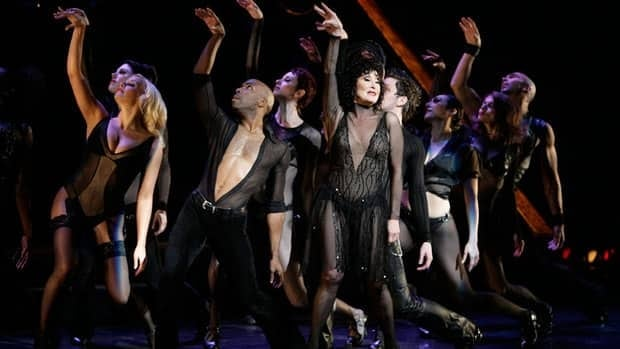 The revival of Chicago is now the third-longest running show on Broadway. Chita Rivera, (centre) who starred in the original production, performs with members of the cast in 2006.