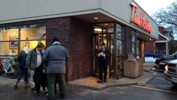 The Hortons that stands at Ottawa North and Dunsmure is on the site of the chain's first location, but the history pretty much ends there.