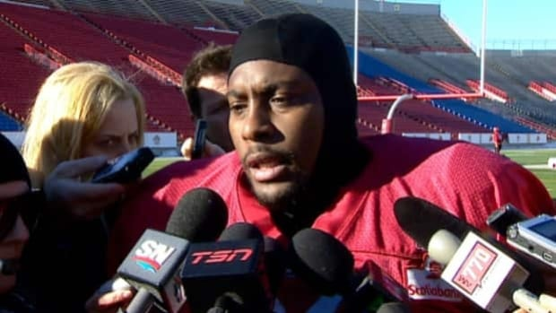 When Nik Lewis spoke to reporters at McMahon Stadium Wednesday, his mea culpa was a mix of repentance and defiance. The player issued a new apology Thursday and announced he will be donating his Western final paycheque to a local women's shelter.