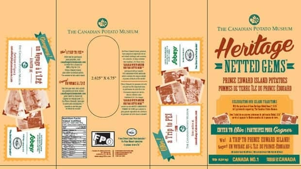 Grocery sales of heritage potatoes netted Canadian Potato Museum a large donation.