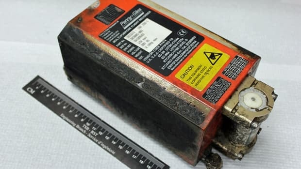 Cockpit voice recorder recovered from the Ornge Sikorsky S-76A helicopter that crashed near Moosonee, Ont. on May 31.