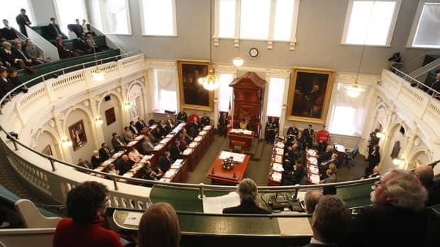The Nova Scotia government has passed a law to implement new electoral boundaries in the province.