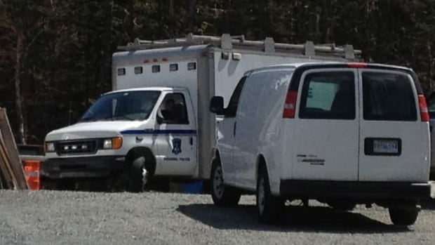 RCMP returned to a Shad Bay property Sunday, continuing their investigation into an unsolved crime.