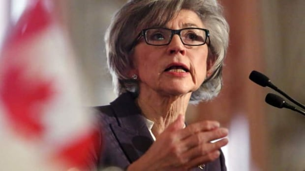 Beverly McLachlin, Chief Justice of the Supreme Court of Canada, says many people give up on the justice system and 'just swallow their pain and their loss and live with it.'