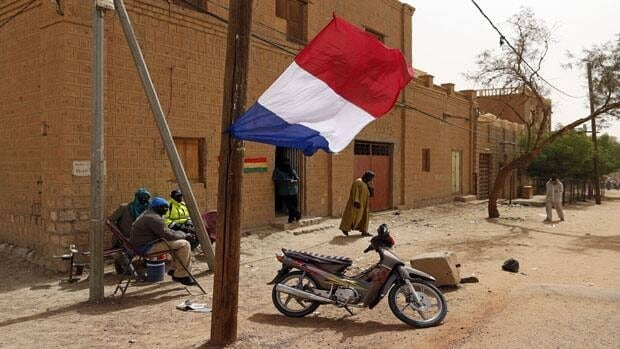 French Defence Minister backed the idea of sending a UN peacekeeping force into Mali