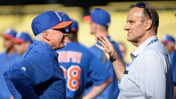 Joe Torre, right, MLB's executive vice-president, has given his instant replay proposal to baseball's executive committee to be discussed further on Thursday. The former big league manager said he's fairly confident a new system will be in place for next season.