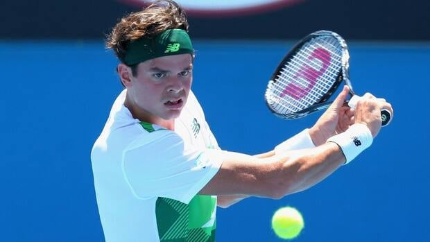 Canada's Milos Roanic recovered from a shaky start to win his opening match against Jan Hajek of the Czech Republic at the Australian Open Tuesday in Melbourne.