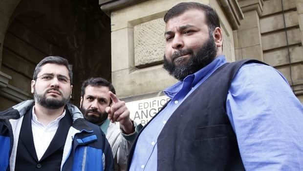 Abdullah Almalki (left to right), Muayyed Nureddin and Ahmad El Maati are shown in Ottawa on May 8, 2008. The Supreme Court of Canada said Thursday it will not hear an appeal in their bid to sue the federal government.