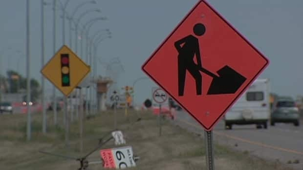 Drivers are being asked to slow down in construction zones around New Brunswick.