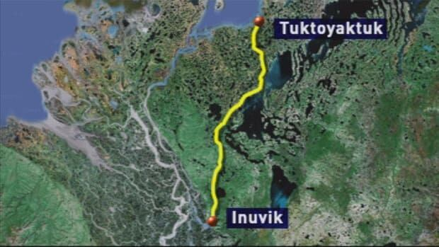 The all-weather road will stretch 140 kilometres.