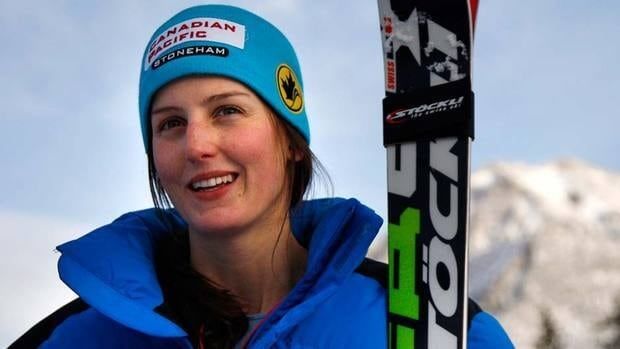 Kelsey Serwa, here in training earlier in December, won a World Cup ski cross event on Sunday in Italy.