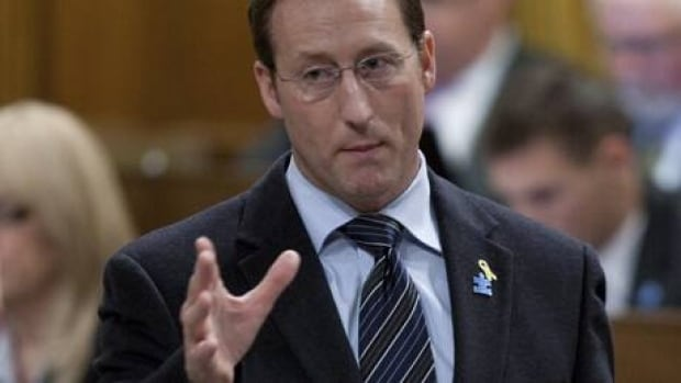 Minister of National Defence Peter MacKay responds to a question during Question Period in the House of Commons in Ottawa, Monday April 2, 2012.