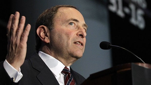 NHL Commissioner Gary Bettman proposed Thursday that the leadership from both sides step aside for the next bargaining session, leaving a group of owners and players to try and break the current NHL lockout stalemate.