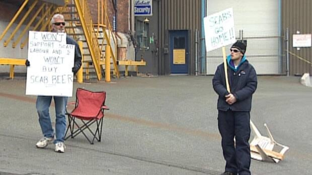 About 50 Labatt workers have been off the job since March, and on a legal strike since April 10.