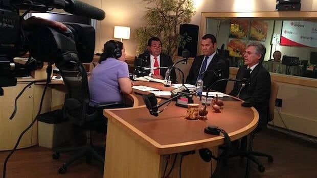 Having served 18 years as Grand Chief Incumbent Grand Chief Matthew Coon Come (right) is seeking another mandate from voters.