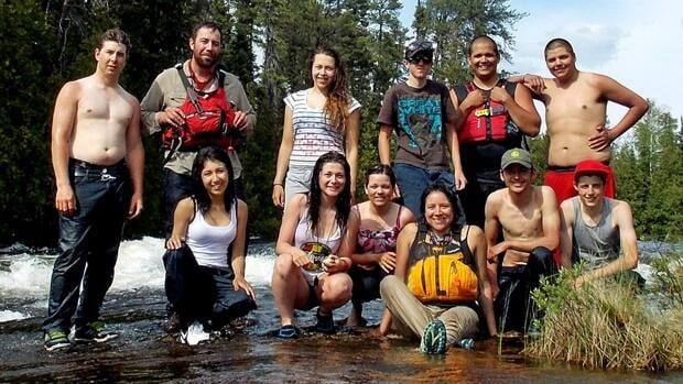 Students from WC Eaket Secondary School in Blind River were canoeing the Mississagi River when they encountered an Elliot Lake couple who had been lost for two days.