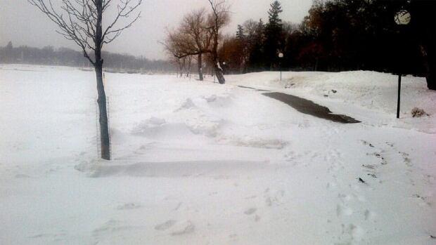 It's been a record-cold spring so far in many Saskatchewan communities. On April 11, Regina's Wascana Park was still snowbound.