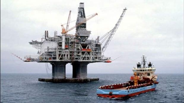 The Hibernia platform began producing oil in November 1997.