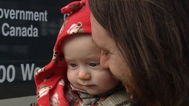 Baby Ziggy was born five months ago in a Vancouver hotel room.