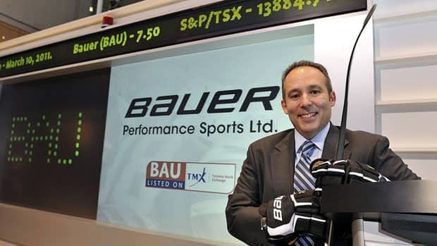 Bauer CEO Kevin Davis, shown during the launch of its public share offering in 2011, says the deal will makeBauer a one-stop-shop for its retail partners.