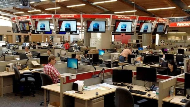 The CBC Newsroom in Vancouver is supported by the work of journalists, producers and hosts at bureaus in Victoria,  Kelowna, Prince George, Nelson, Prince Rupert and Kamloops.