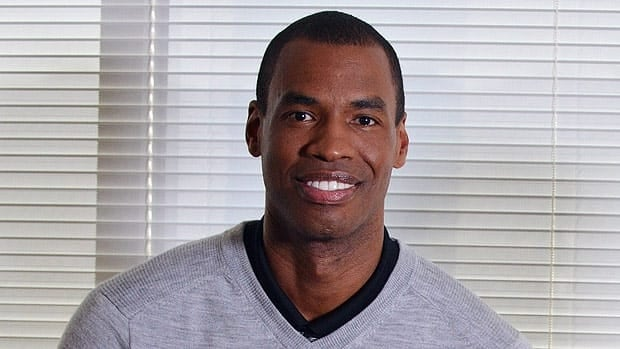 Jason Collins, in a photo released Tuesday by ABC, received support from the White House after his announcement.