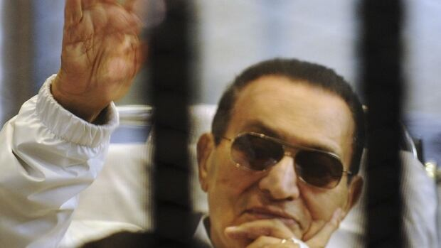 Despite his release, Hosni Mubarak, 85, still faces retrial on charges of complicity in the killing of protesters in the 2011 uprising against him, which could put him back behind bars.