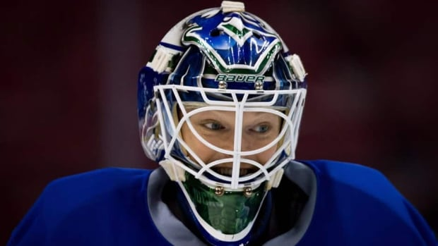 Vancouver Canucks goalie Cory Schneider started 30 games in the regular season, allowing just 2.11 goals per game.