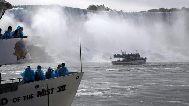 The first Maid of the Mist boat began operating tours below Niagara Falls, Ont., in 1846.