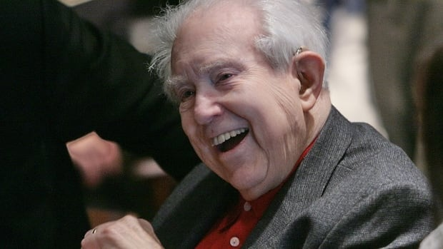 Acclaimed composer Elliott Carter, seen at New York's Carnegie Hall in 2008, died Monday at age 103.