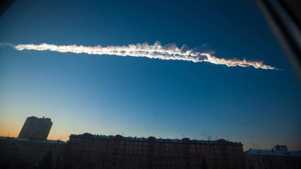 A meteor streaked across the sky above Russia's Ural Mountains on Friday morning, causing explosions and reportedly injuring more than 1,100 people.