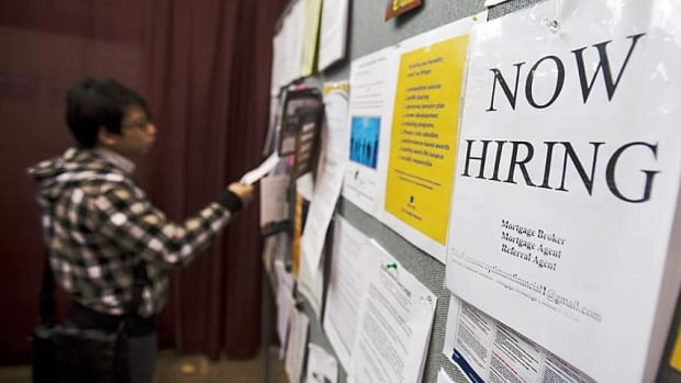 The quality of new jobs in Canada is improving, CIBC said in a report Thursday.
