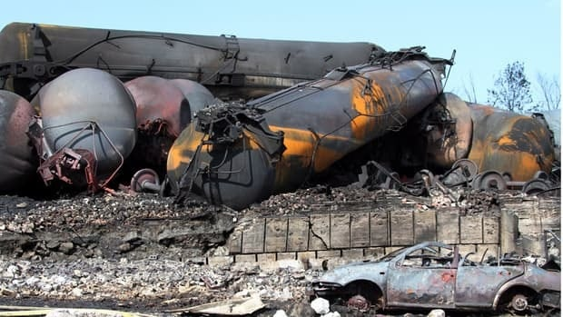 Labelling rules on shipping oil by rail have been tightened in response to the Lac-Mégantic explosion which was caused by a runaway train carrying crude oil.