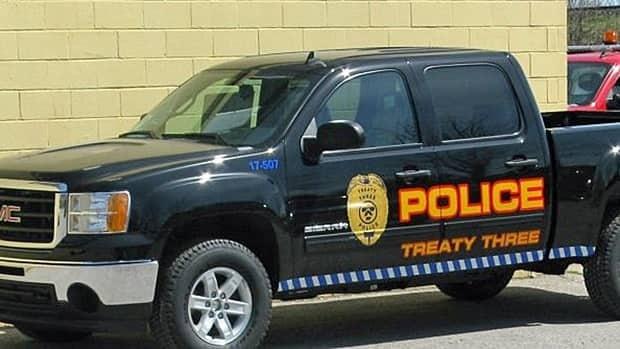treaty three police truck