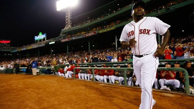 Boston Red Sox slugger David Ortiz batted .318 with 23 homers and 60 RBIs in an injury-plagued season last year.