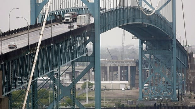 Trade over border crossings such as the Ambassador Bridge between Windsor, Ont., and Detroit is a major Canadian issue facing the next U.S. president.
